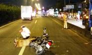 Cố vượt xe tải trong làn ô tô, 1 sinh viên tử nạn