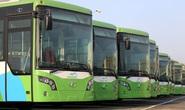 Buýt nhanh không chạy thử trên đường phố Hà Nội
