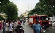 TP HCM: Gây rối, chém công an rồi đốt nhà