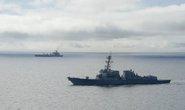 Tàu tên lửa Mỹ vào khu vực 12 hải lý quanh đá Chữ Thập