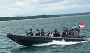 Tổng thống Indonesia lên tàu chiến đến quần đảo Natuna