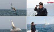 Triều Tiên phóng tên lửa từ tàu ngầm