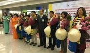 Đón 500 khách quốc tế đến TP HCM ngày đầu năm