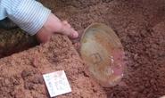 Phát hiện đĩa sứ ở hố khảo cổ tìm mộ vua Quang Trung