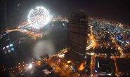 TP HCM: Pháo hoa bùng sáng, người người hân hoan mừng năm mới