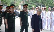 Trời đổ mưa trong lễ tiễn đưa 9 quân nhân hy sinh trên CASA-212
