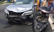 Chỉ 100 m xảy ra 2 vụ tai nạn, 2 người bị thương