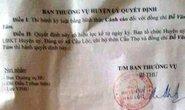Cảnh cáo Chủ tịch xã lập hồ sơ khống rút tiền ngân sách