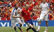 Tây Ban Nha - CH Czech 1-0: Chiến thắng của Iniesta