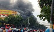 Cháy cây xăng trên đường Quang Trung - TP HCM
