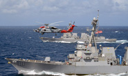 3 tàu khu trục Mỹ chọc giận Trung Quốc ở biển Đông hoàn thành nhiệm vụ