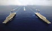 Hải quân Mỹ phô trương sức mạnh gần biển Đông