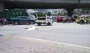 Xe ben tông chết người rồi bỏ chạy gần 4 km