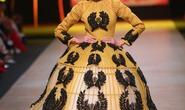 Thanh Hằng diện váy hoa lúa bồng bềnh làm vedette