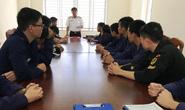 16 sĩ quan hải quân từ Nga về nước thực tập
