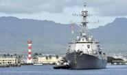 Tới thăm New Zealand, tàu chiến Mỹ rẽ hướng đi cứu người