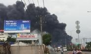 Cháy lớn tại công ty nệm Vạn Thành