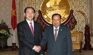 Việt - Lào đồng thuận về vấn đề biển Đông