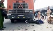 Bị xe container kéo lê 100m, nam thanh niên tử vong tại chỗ