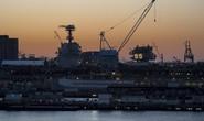 Siêu tàu sân bay gần 13 tỉ USD của Mỹ gặp sự cố