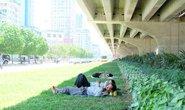 Đủ chiêu trốn nắng nóng thiêu đốt ở Hà Nội