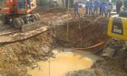 Đường ống nước sông Đà vào tay nhà thầu Trung Quốc