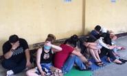 Hàng chục thanh niên chơi ma túy