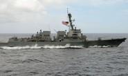 Tàu Mỹ lặng lẽ đeo bám đảo nhân tạo Trung Quốc