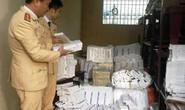 Xe tải chở gần 10.000 bao thuốc lá lậu