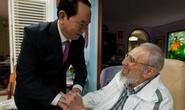 Chủ tịch nước hội kiến nhà lãnh đạo Fidel Castro