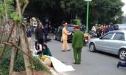 Cụ ông tông xe vào gốc cây, tử vong trên đường Thanh Niên
