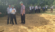 Gần 270 tấn chất thải của Formosa chôn lấp tại trang trại