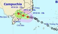 Áp thấp nhiệt đới ảnh hưởng trực tiếp tới TP HCM