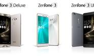 Asus ra mắt Zenfone 3 Deluxe cao cấp đầu tiên