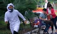 Công an Hà Nội xác minh clip 'ra đường đốt bom'