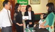 Phương Trâm và Cẩm Hiền ký hợp đồng tiền tỉ với NutiFood