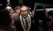 Campuchia cấm cửa lãnh đạo đảng đối lập