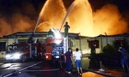 Cháy kinh hoàng trong khu công nghiệp ở Hải Phòng