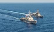 Nhật sát cánh Mỹ ở biển Đông