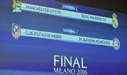 Man City đối đầu Real Madrid, Bayern chạm trán Atletico