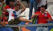 Siêu hooligan Nga bị bắt do lén lút trở lại Pháp