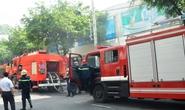 Cháy ở siêu thị Co.op mart trên đường Hùng Vương
