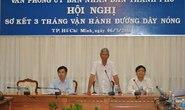 Hơn 13.300 phản ánh đến đường dây nóng của Bí thư Đinh La Thăng