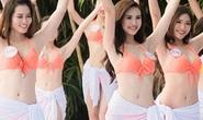 Thí sinh Hoa hậu Việt Nam diện bikini khoe dáng