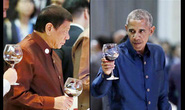 Hai ông Obama - Duterte gặp mặt chớp nhoáng