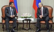 Tổng thống Duterte gặp thần tượng Putin