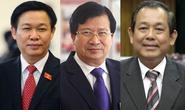 Thủ tướng trình danh sách 3 Phó Thủ tướng mới