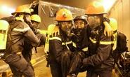 Diễn tập giải cứu người mắc nạn trong hầm sông Sài Gòn
