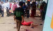 Chồng bất ngờ chém chết vợ trẻ một cách dã man