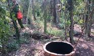 Một phụ nữ chết cháy dưới giếng hoang